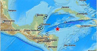 temblor en yucatan sky alert twitter foto