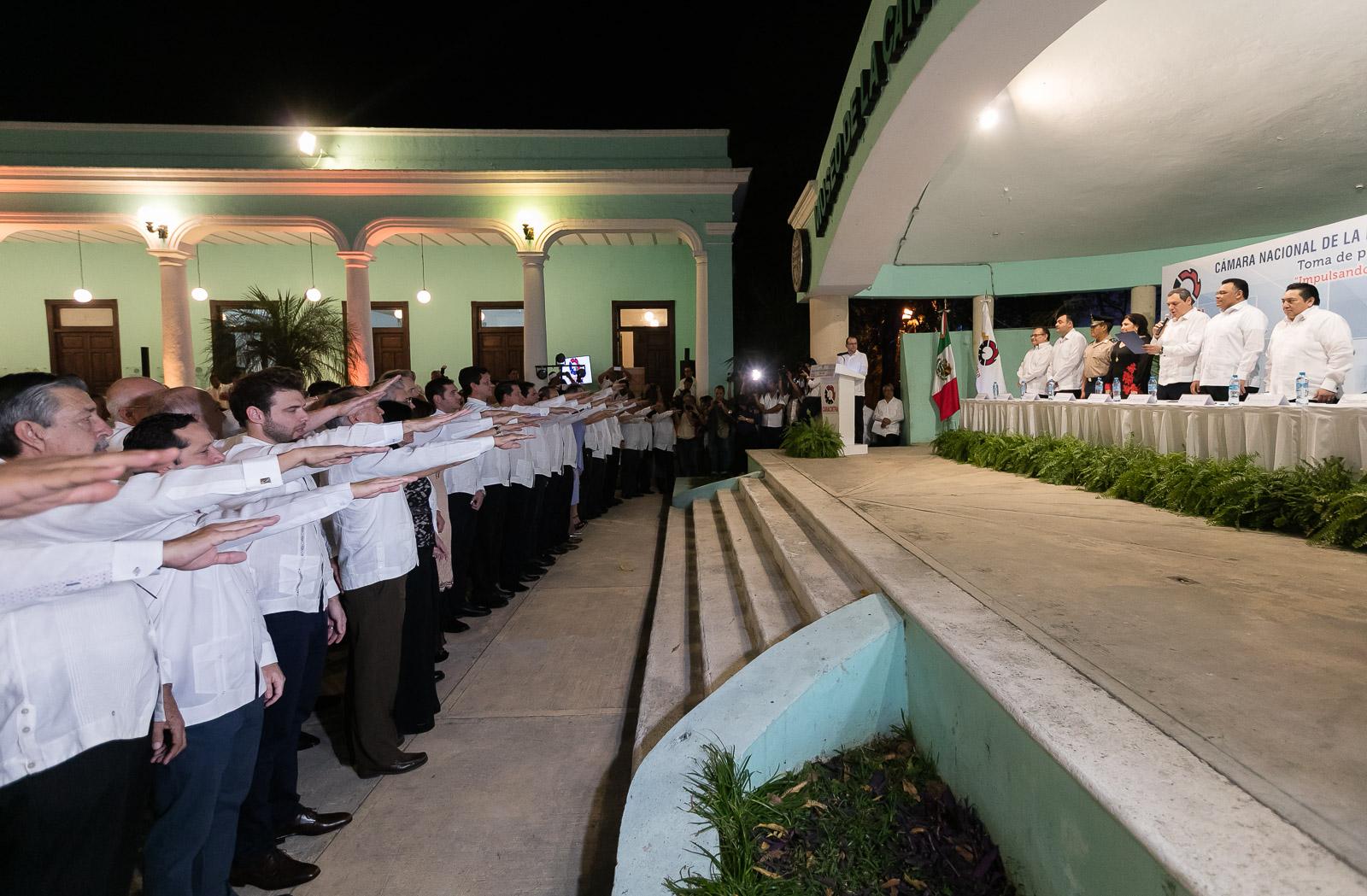 Asume Consejo Directivo 2018-2019 de Canacintra Yucatán