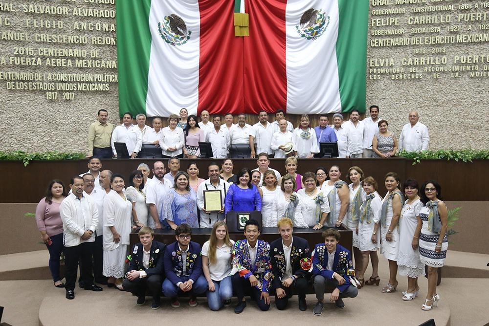 Conmemoran primer Día del Rotarismo en Yucatán