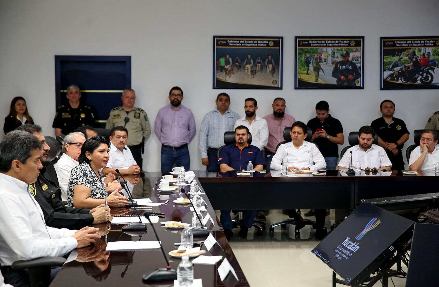 Grupo de empresas yucatecas adopta estrategia estatal de seguridad