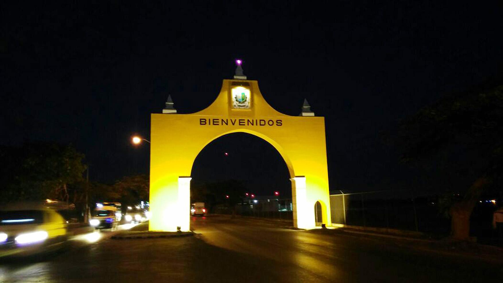 Luce nueva imagen arco de acceso a Mérida vía Campeche