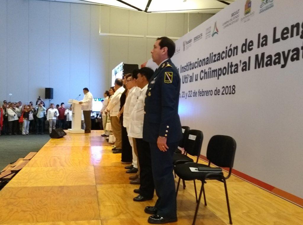 Inicio del Congreso Peninsular para Institucionalización de la Lengua Maya