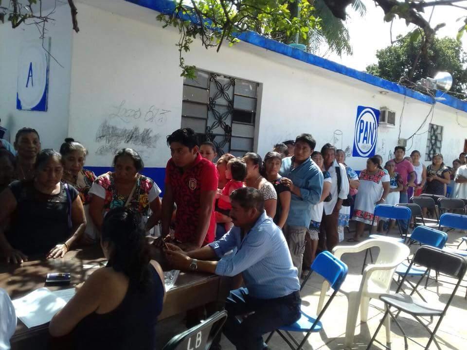 Reporta PAN Yucatán votación interna sin incidentes