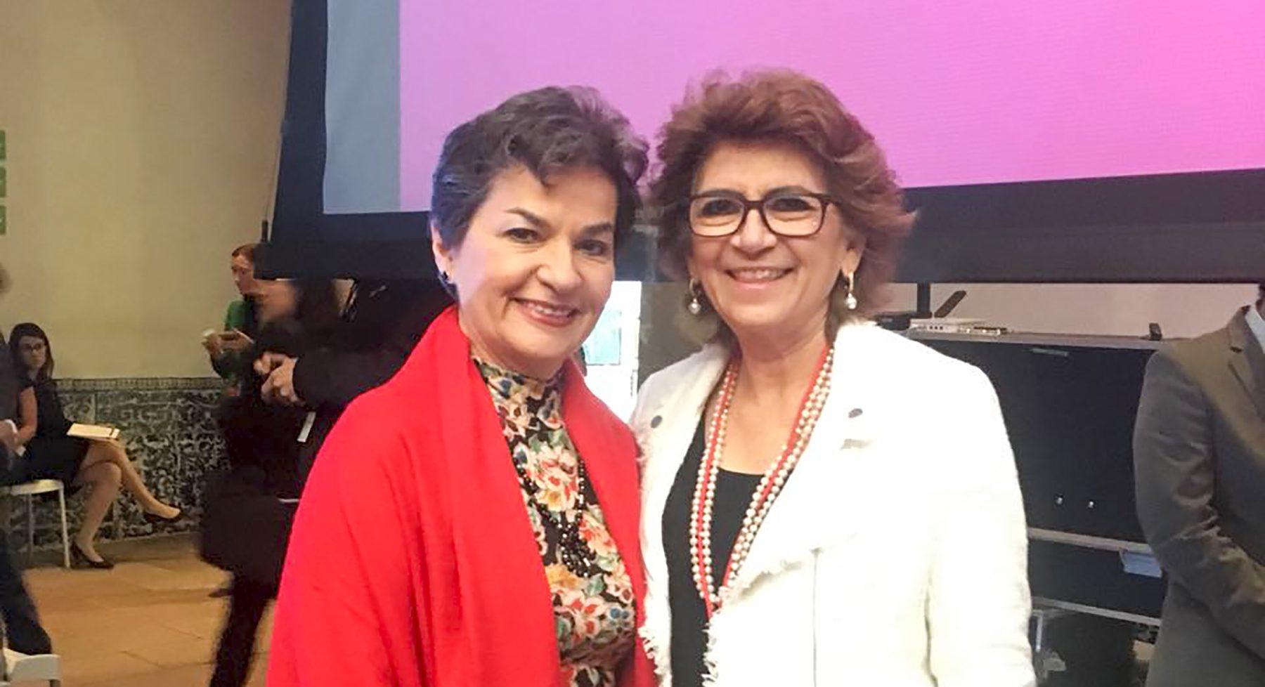 Alcaldesa de Mérida participa en II Convención Anual de Women4climate
