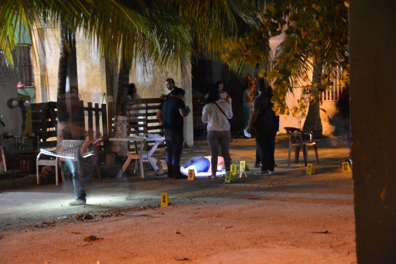 """Domingo """"sangriento"""" en Cancún"""