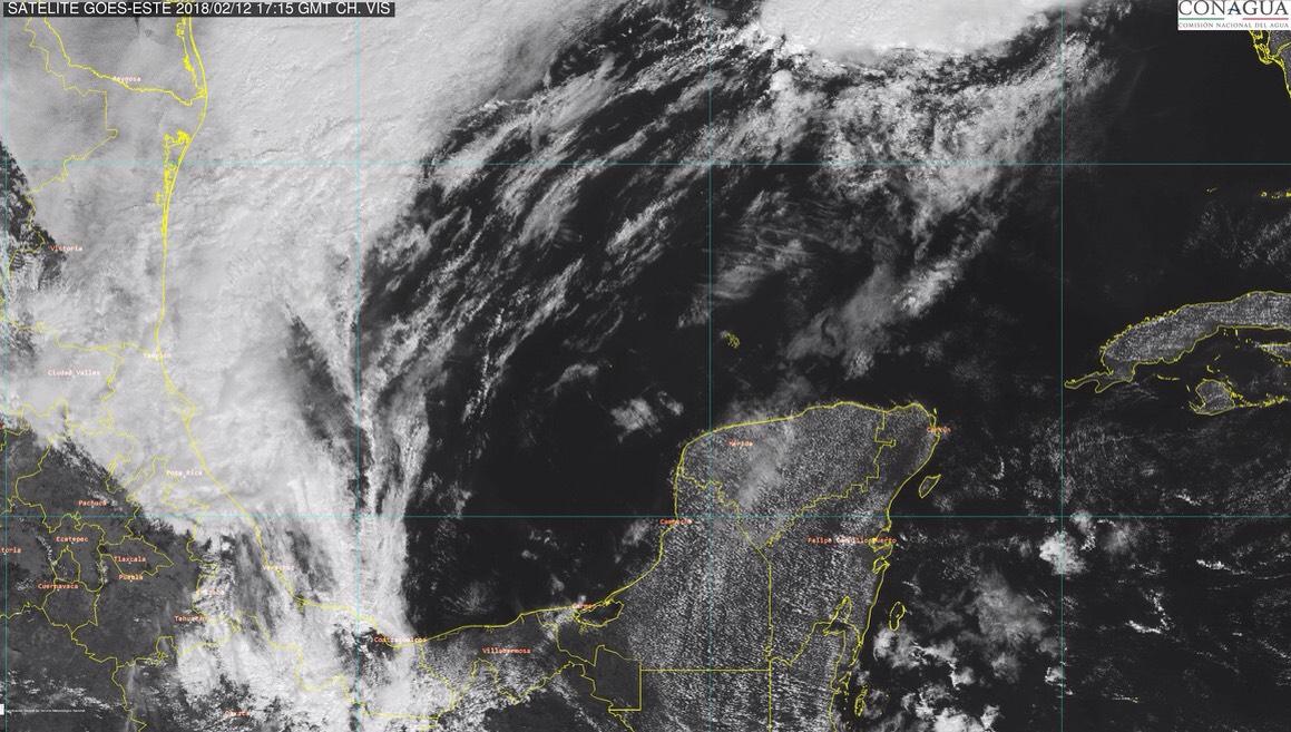 Seguirá racha de calor y escasas lluvias en Península de Yucatán