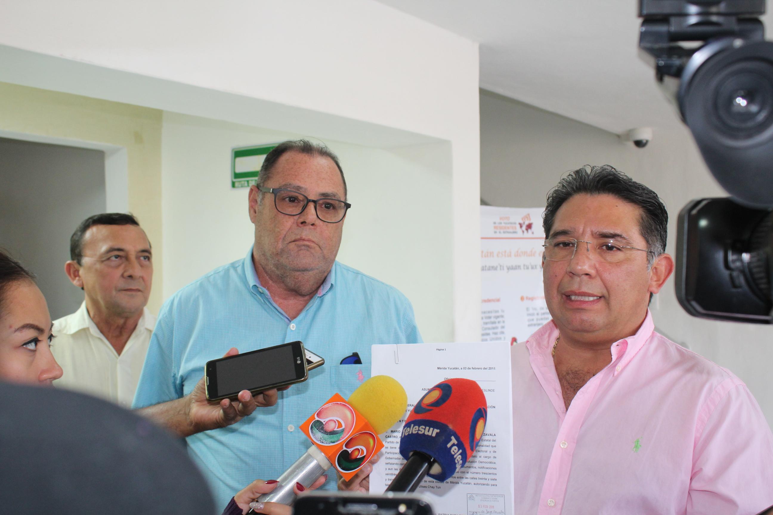 En página apócrifa exhiben vídeo sobre aspirantedel PRD-PES Yucatán
