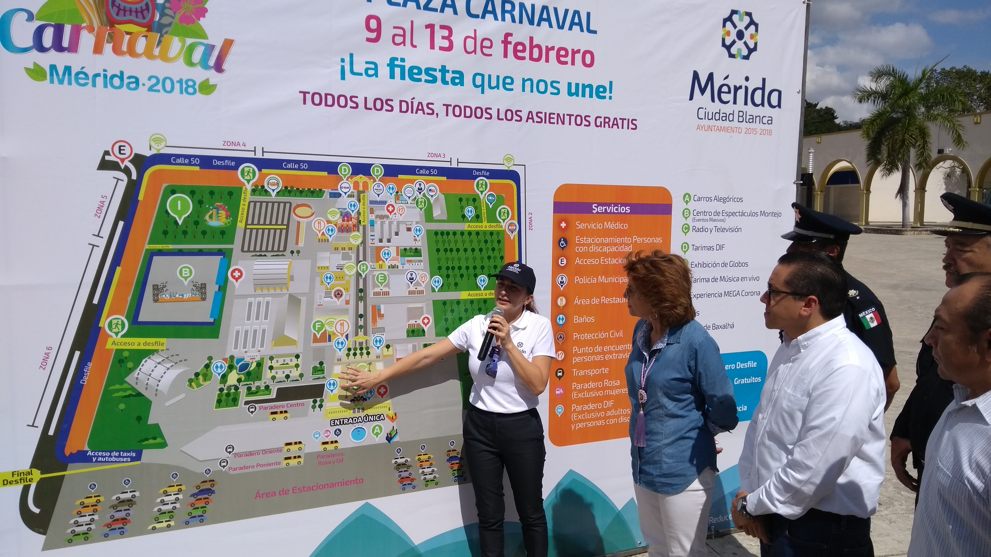 Esto encontrarás en el Carnaval de Mérida 2018