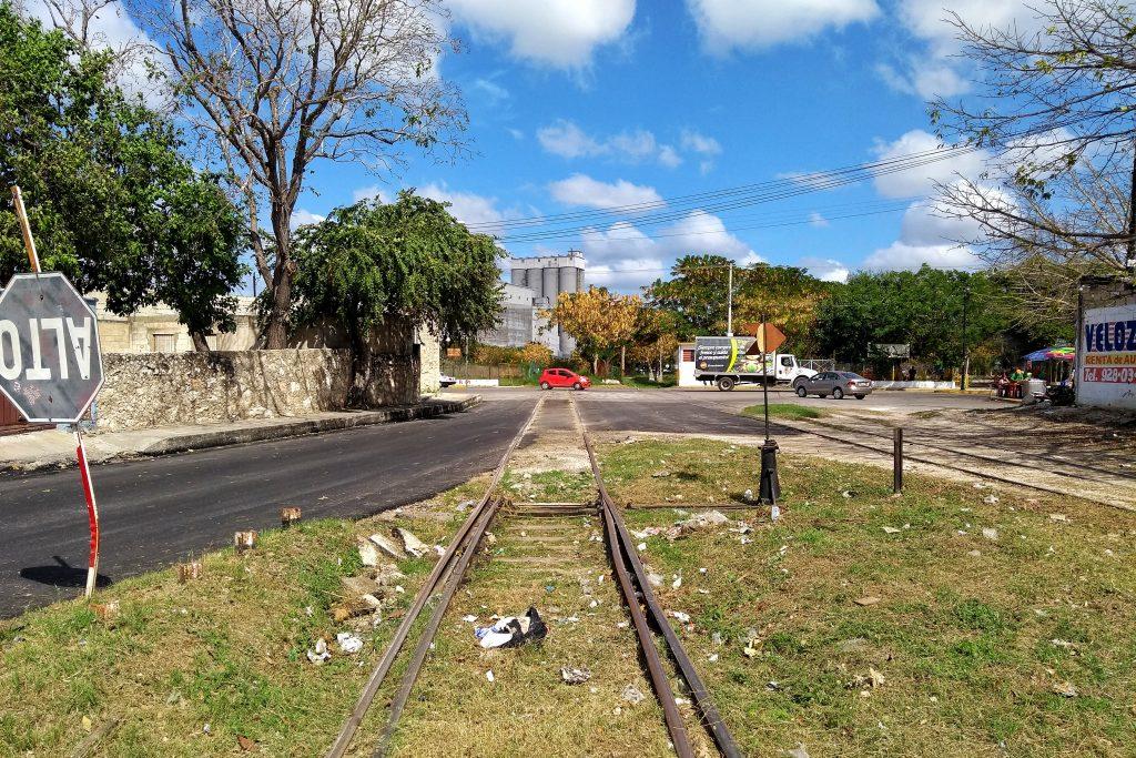 Terrenos de la plancha operaciones de ferrocarril de carga MÉRIDA