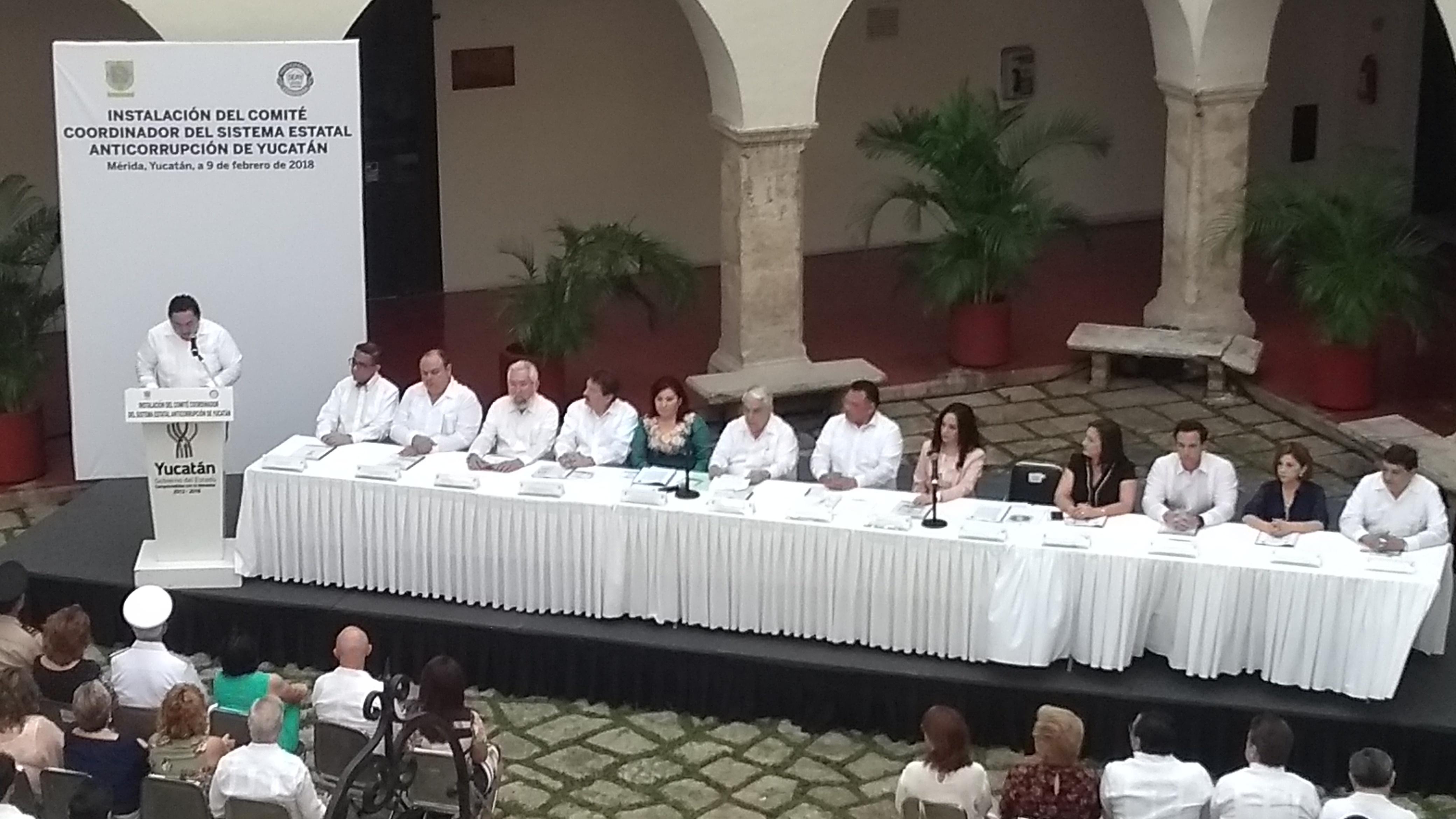 """Advertencia a corruptos en Yucatán: """"su tiempo se les acabó"""""""