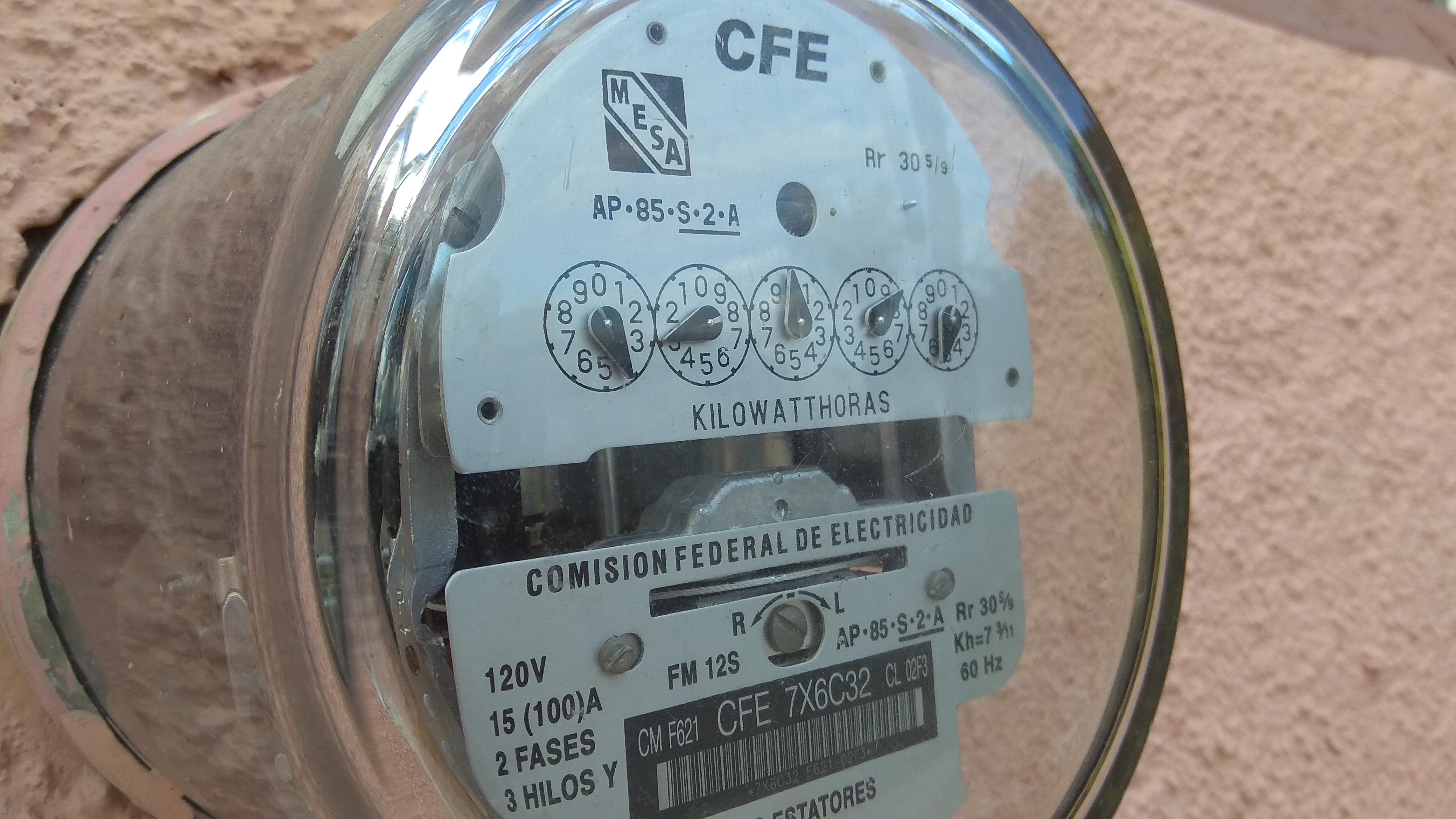 Rectificará CFE facturaciones altas a empresas.- Concanaco