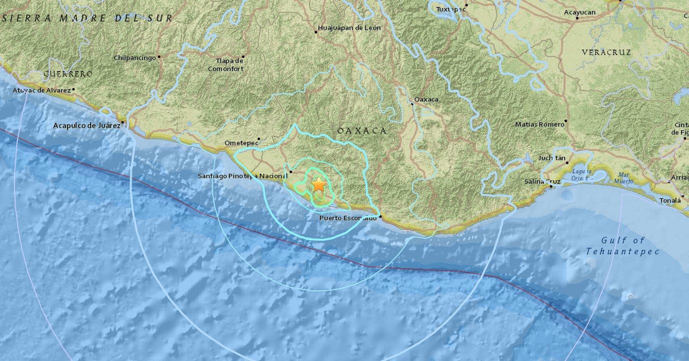 Descarta Segob pérdidas humanas por el sismo de 7.2 grados