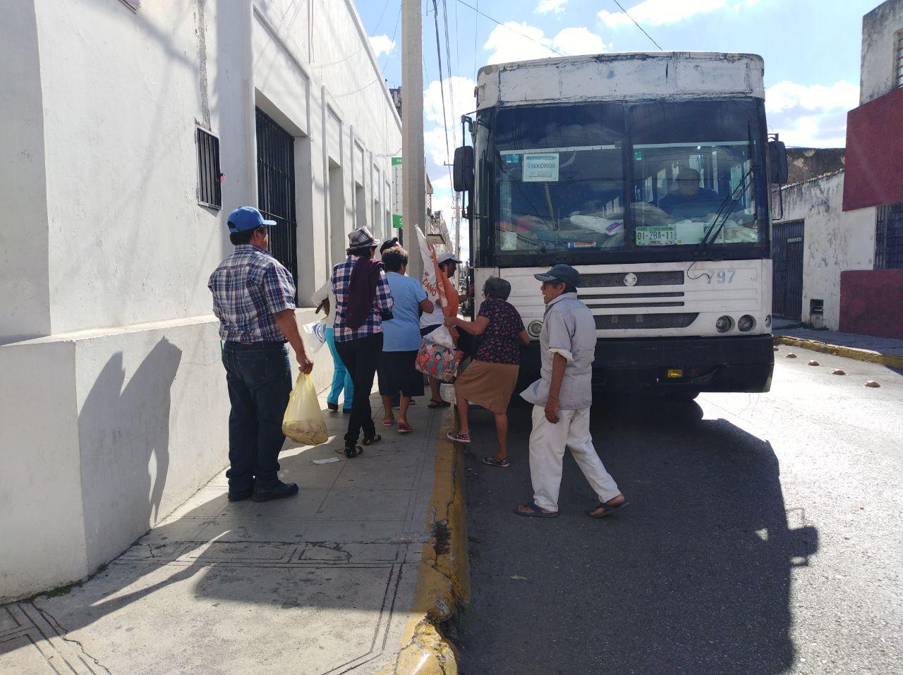 Ruta de subsidios 'contagia' transportistas yucatecos
