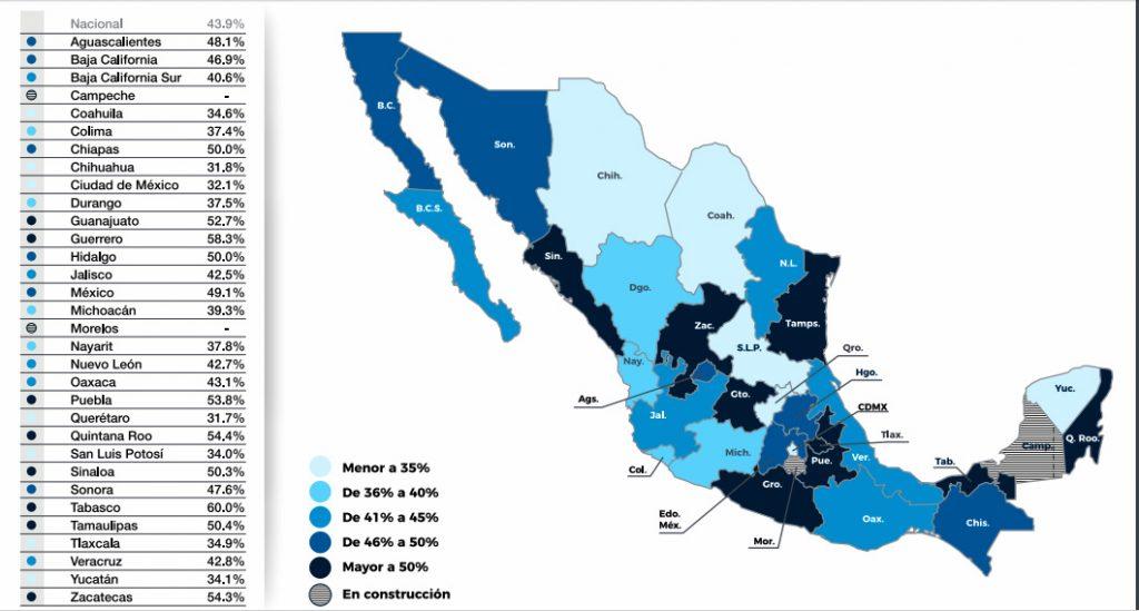 Mapa seguridad #dataCoparmex