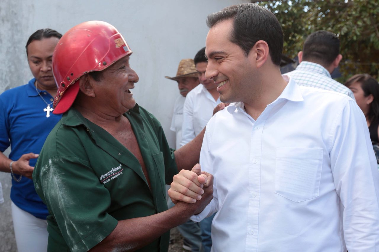Valora Mauricio Vila listos los cimientos para su propuesta