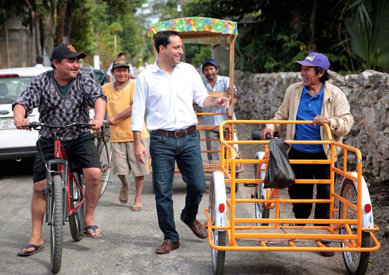 Cubre precampaña de Mauricio Vila 106 municipios