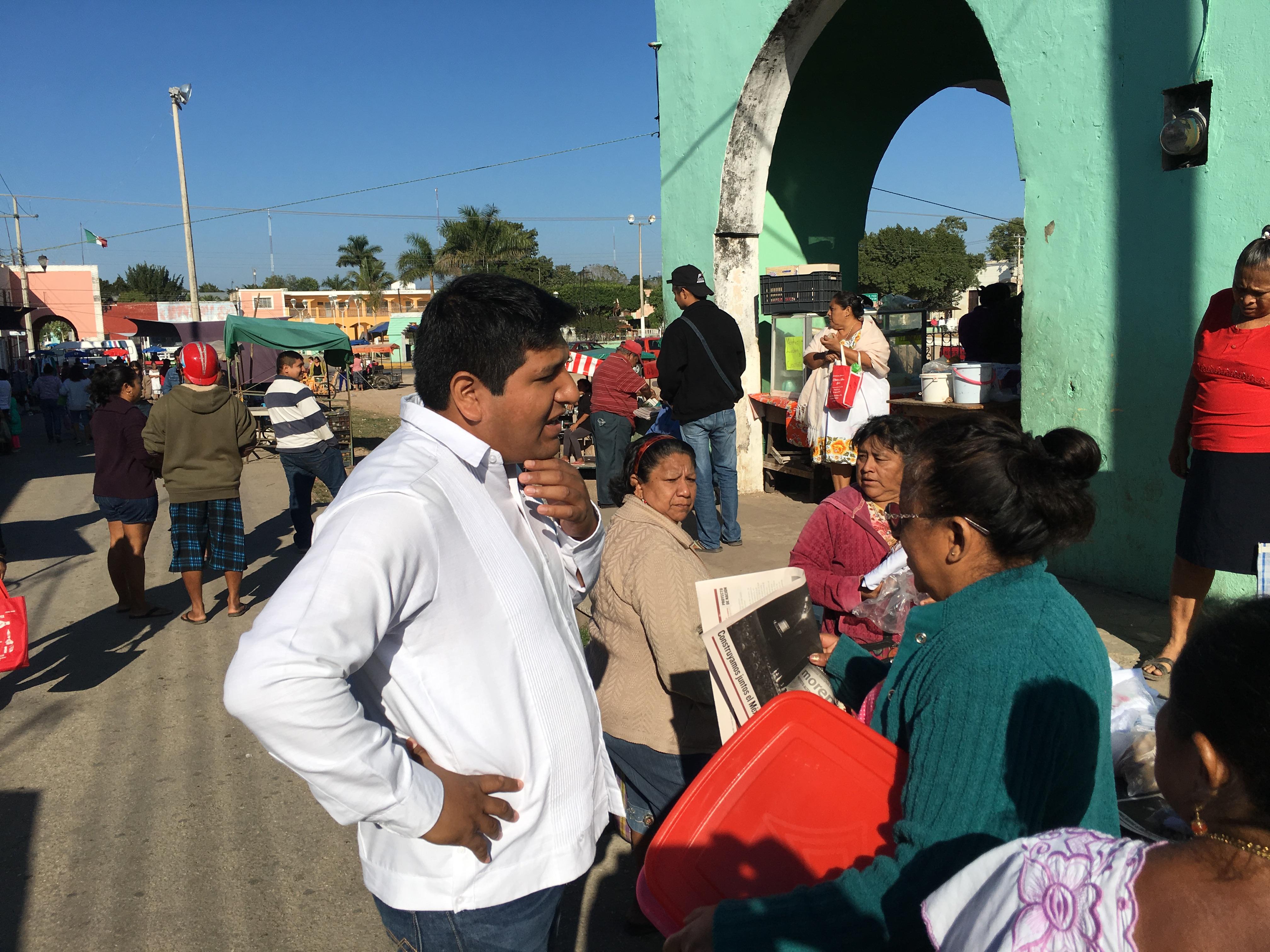 Refuta aspirante de Morena cifras de pobreza en Yucatán