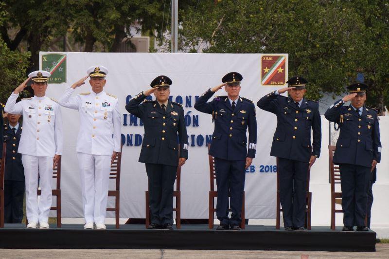 Militares en Yucatán recibieron condecoraciones