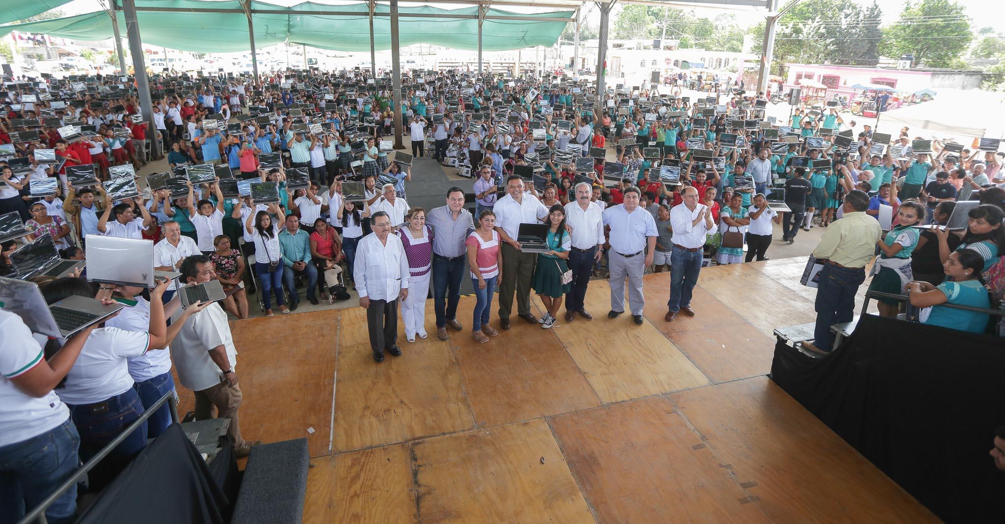 'Bienestar Digital' a llegado a más de 65 mil hogares de Yucatán