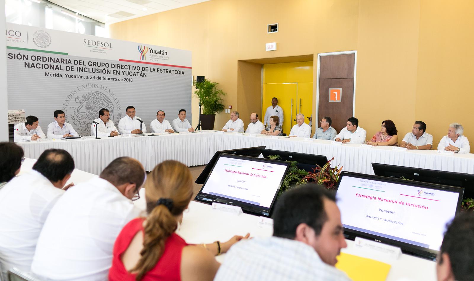 Redefine Yucatán alcances de combate a carencias sociales