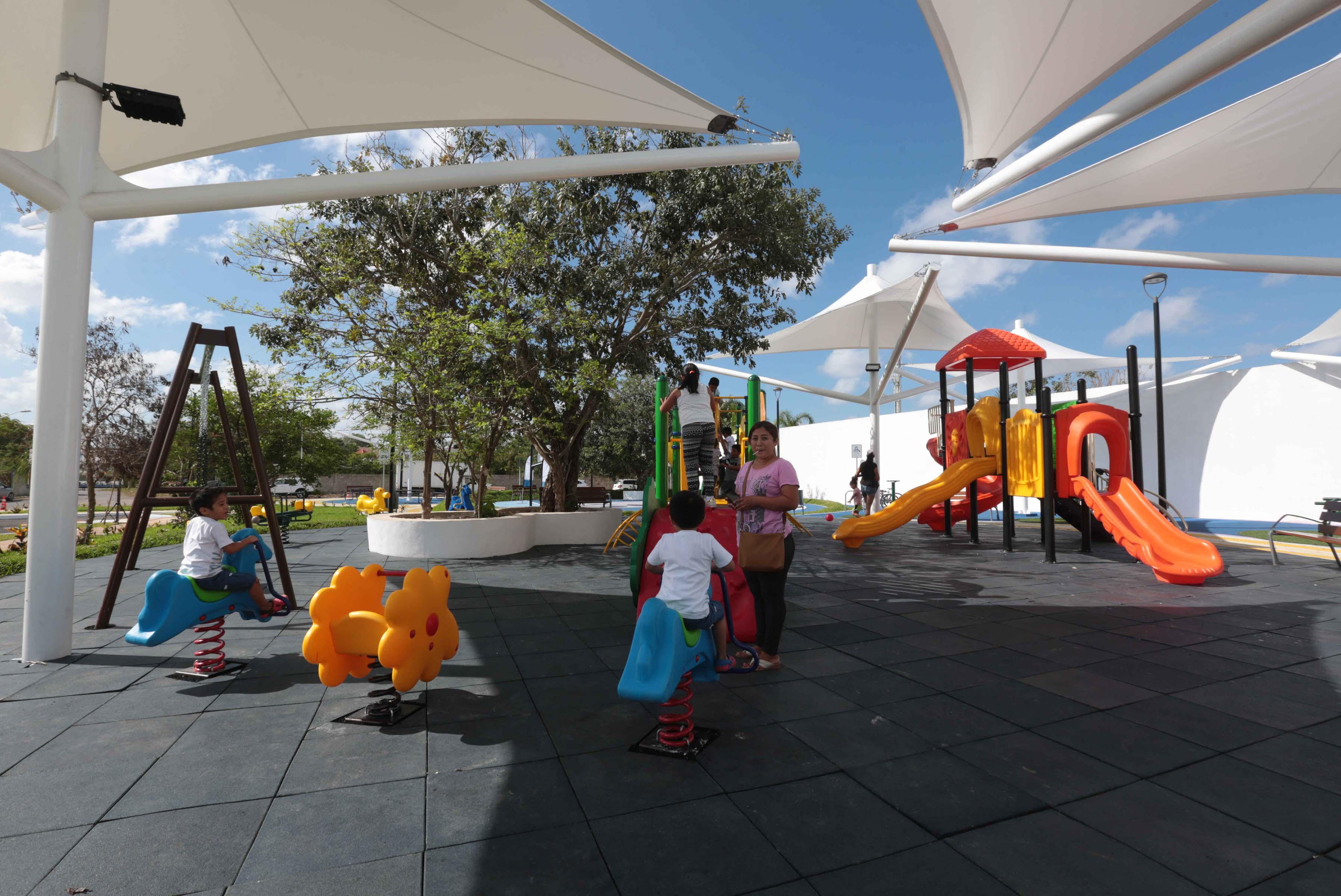 Inauguran parque VIFAC en fraccionamiento Montecristo