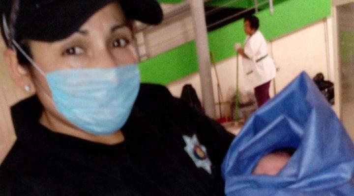 En Kanasín, jovencita de 16 años dio a luz en vía pública
