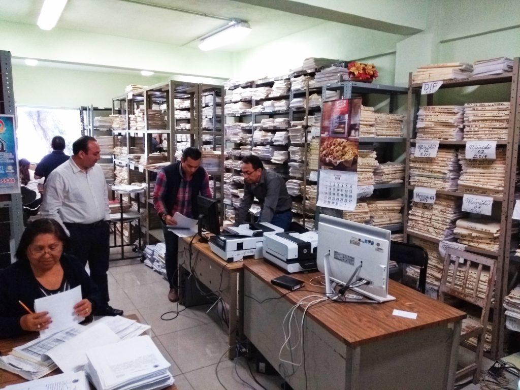 archivo actas de nacimiento registro civil