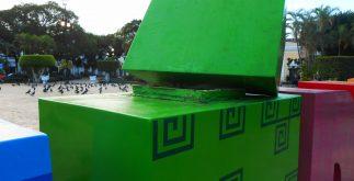 daño parador turistico letras gigantes mérida selfies