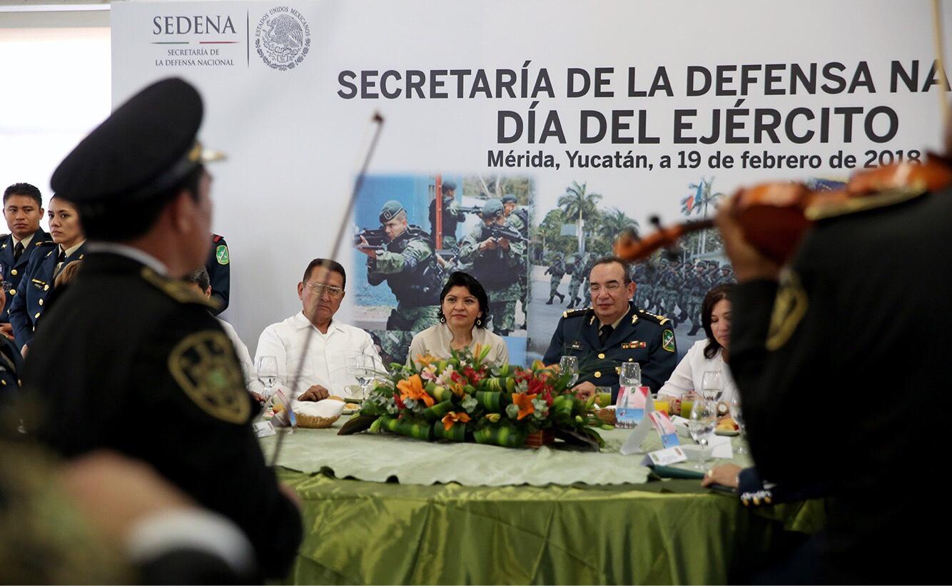 La X Región Militar celebró Día del Ejército Mexicano