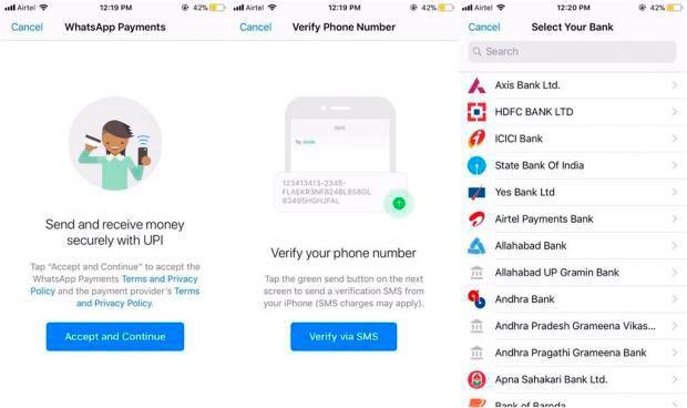 WhatsApp ya prueba un sistema de pagos móviles