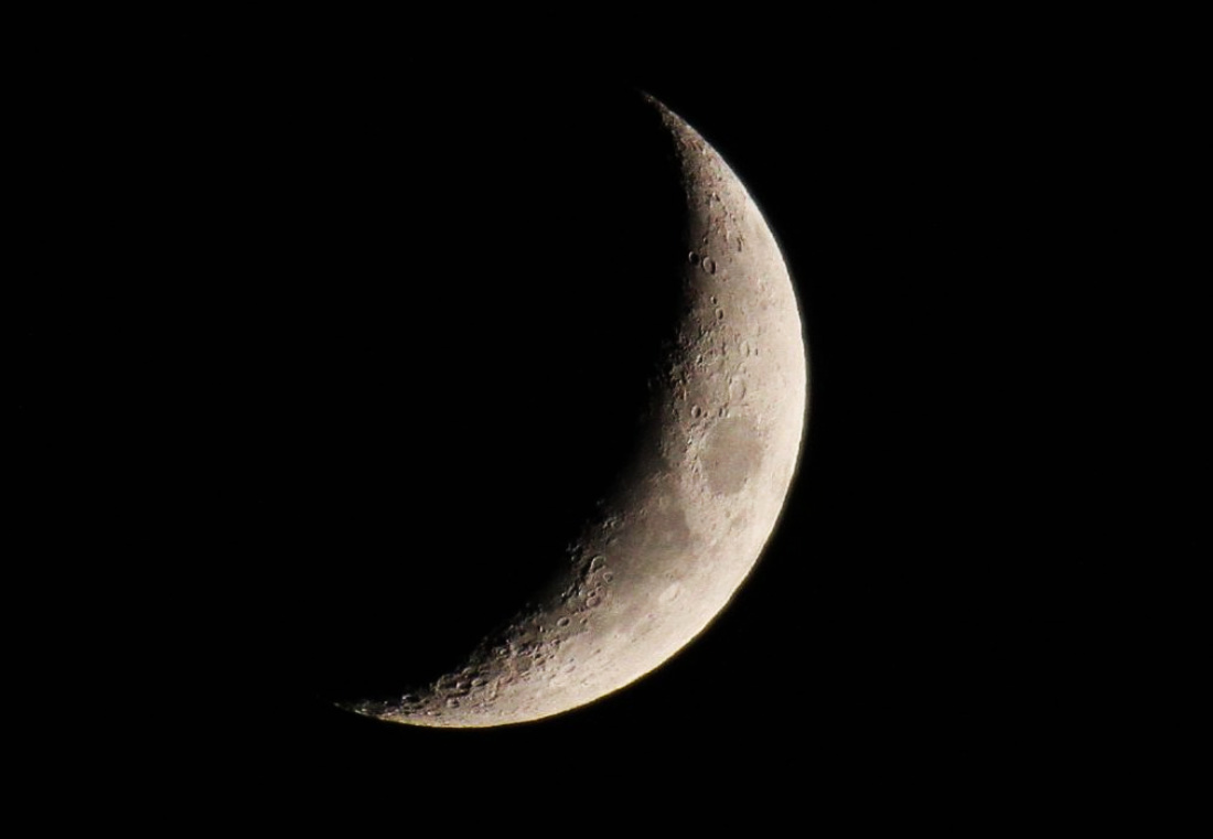 Febrero de 2018 no tiene luna llena sólo <i>negra</i>… ¿quién se le robó?