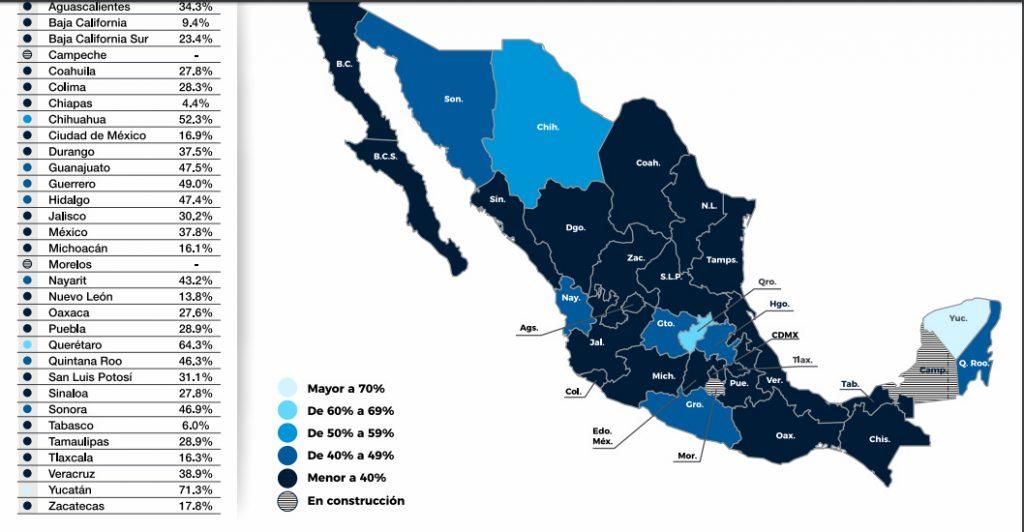 marcaje gobierno data coparmex mapa