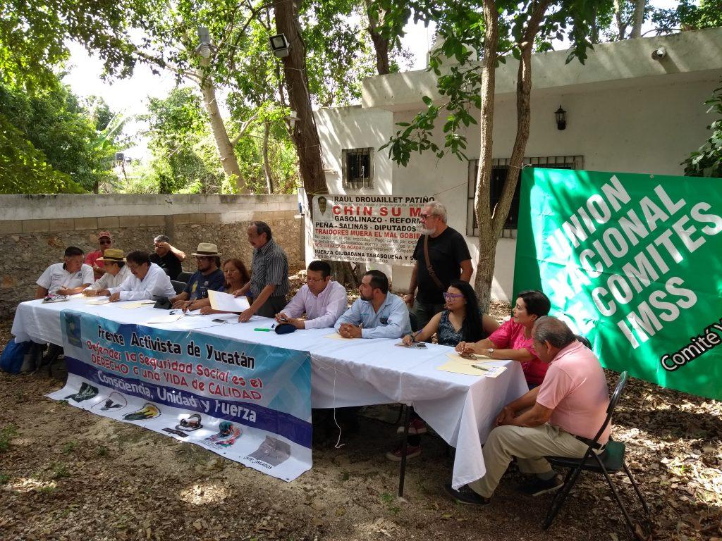 reunión jubilados y pensionados mérida 2018 yucatan