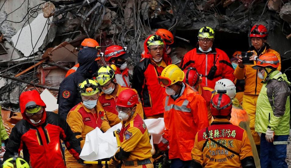 Terremoto en Taiwán de magnitud 6,4 dejó 7 muertos y 256 heridos