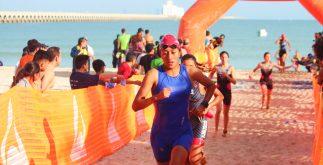 triatlón de mérida 2018 competencia nado progreso
