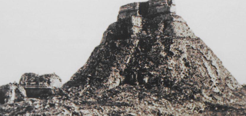 uxmal en ruinas exposicion en inah
