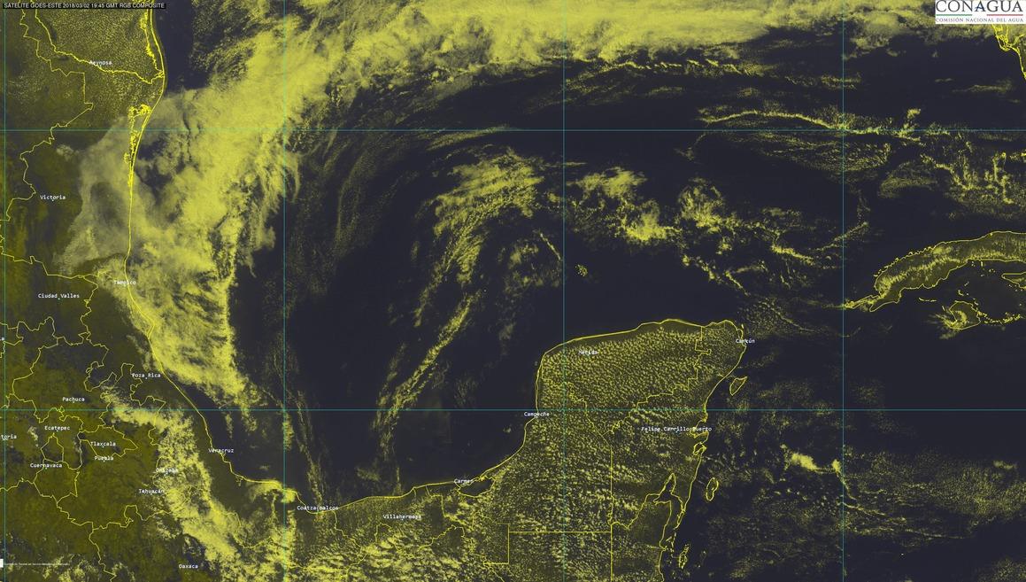 Mínimo respiro al calor en Península de Yucatán por cercanía de Frente Frío 34