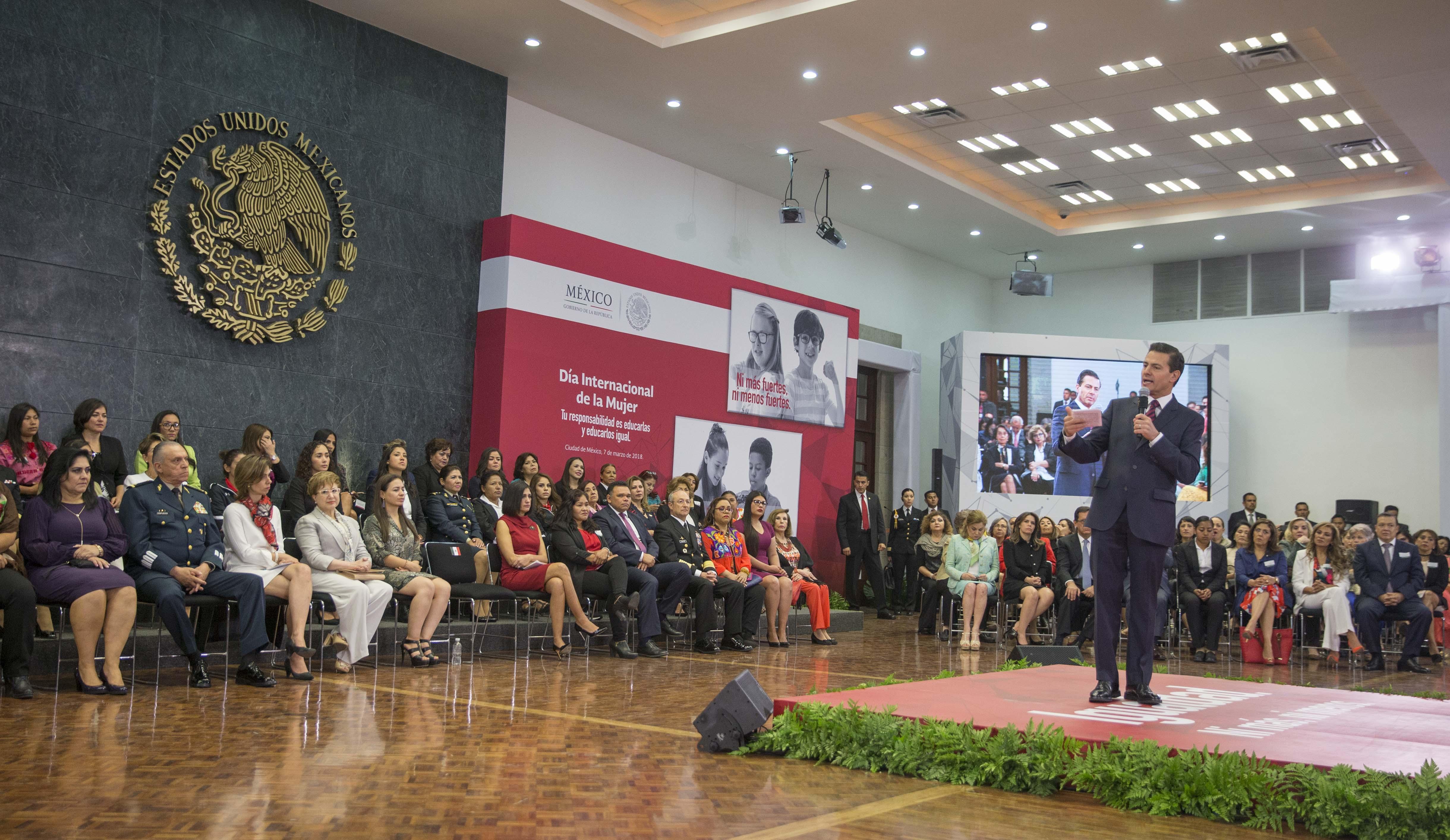 Yucatán presente en conmemoración de Día Internacional de la Mujer