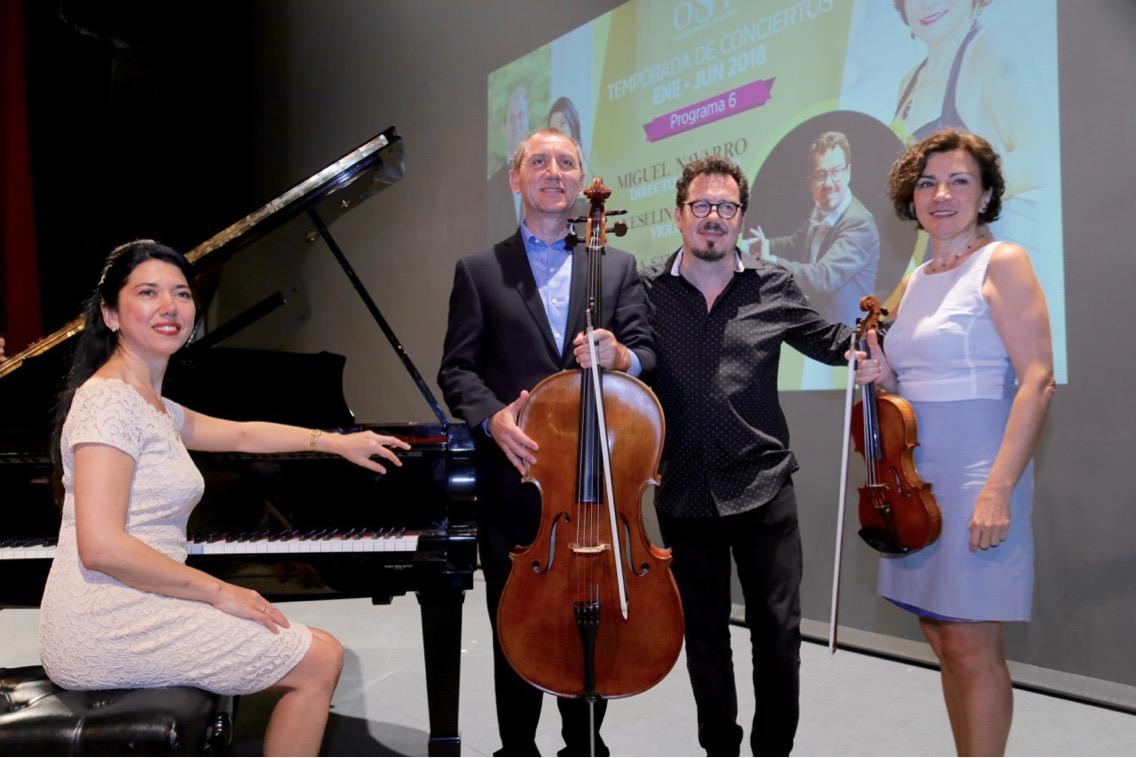 Prepara OSY concierto de Beethoven con tres solistas