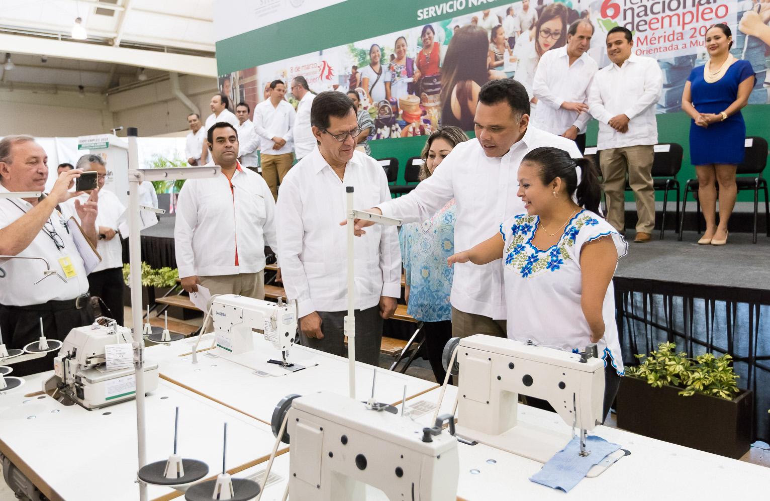 Mantiene desempleo niveles bajos en Yucatán