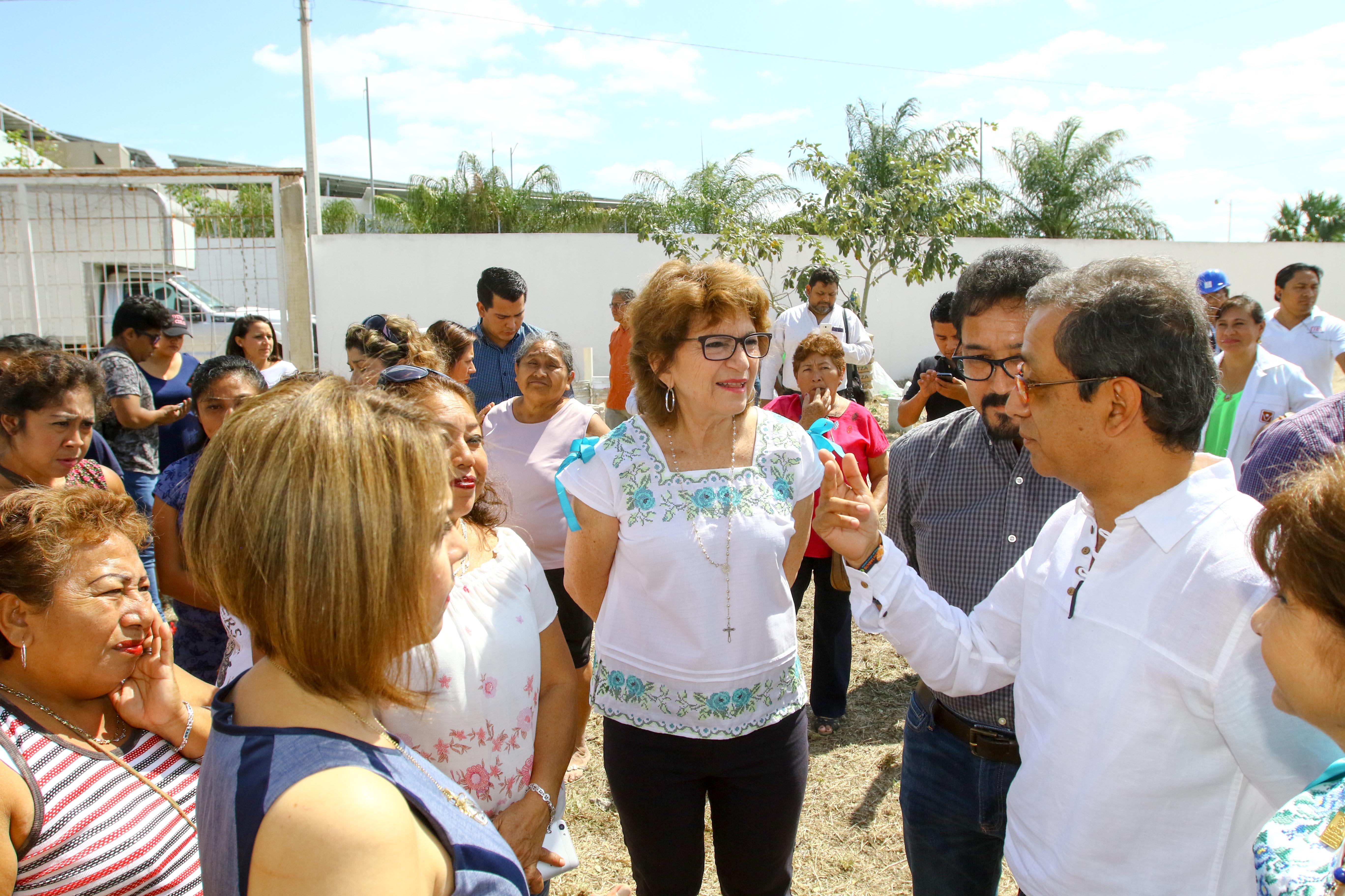 Inicia construcción de cancha de usos múltiples del Centro de Integración Juvenil