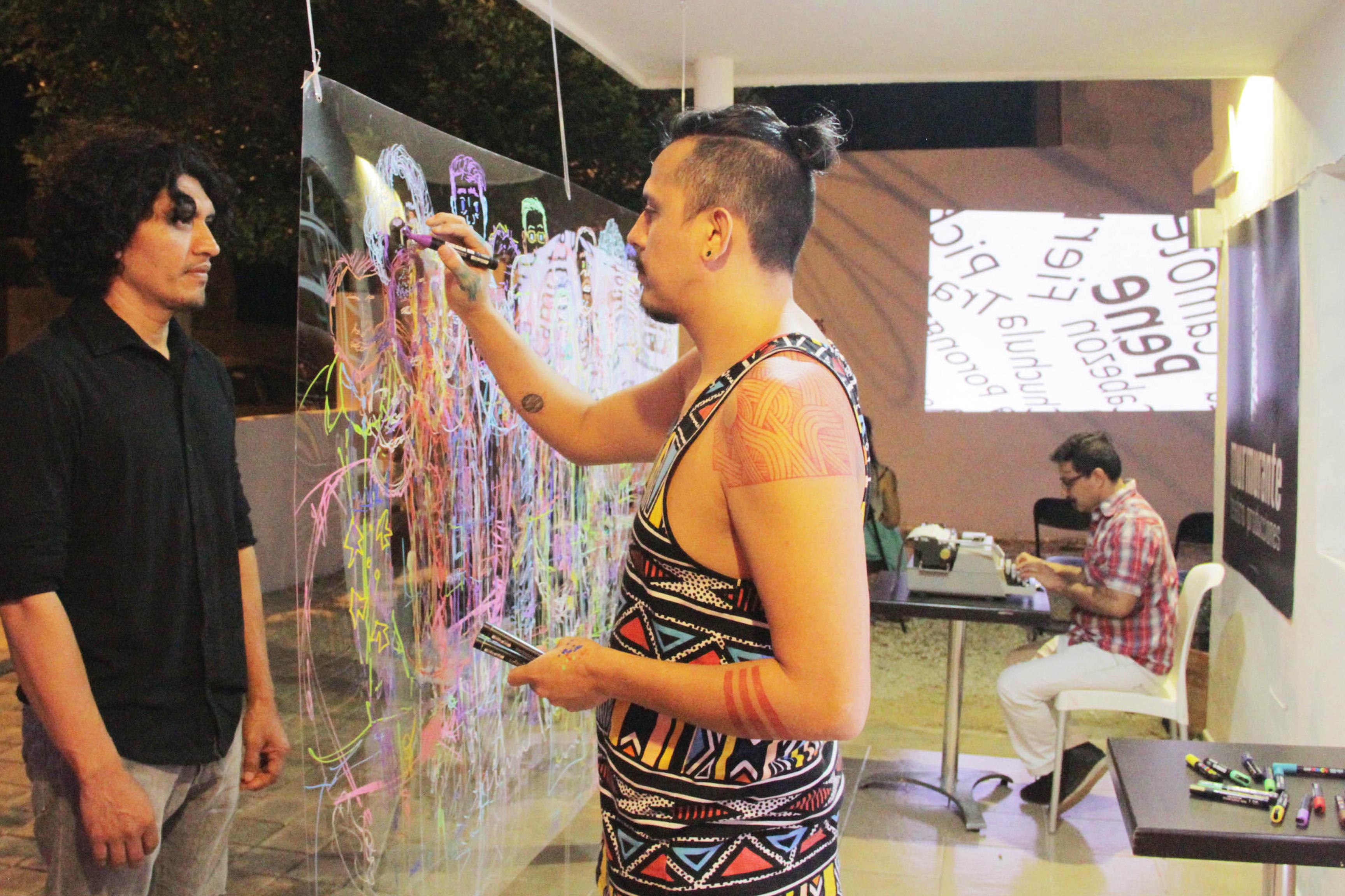 Cruzada artística contra VIH y embarazos en adolescentes