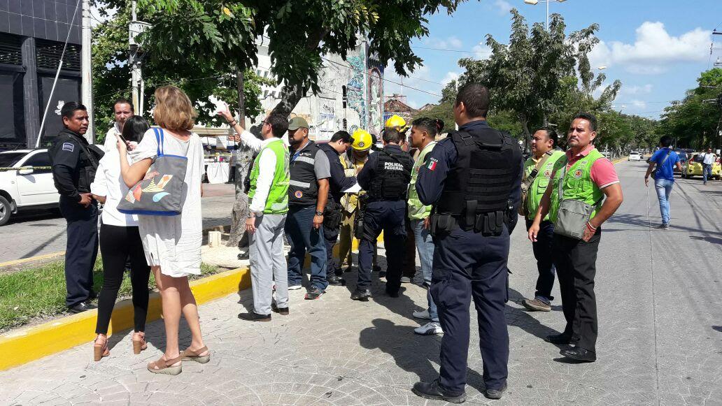 Cancún: falsa amenaza de bomba, asalto real a negocio