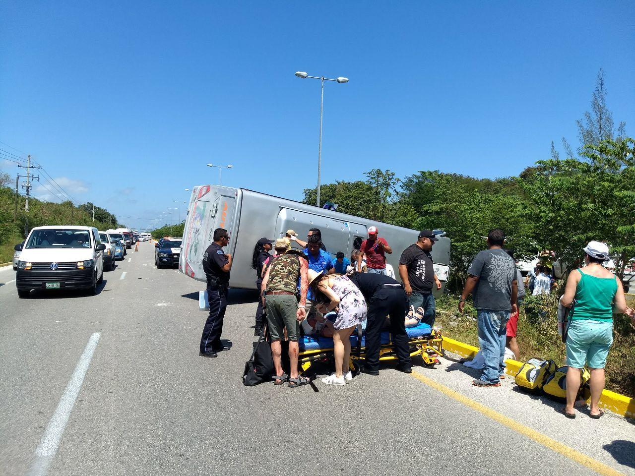 Susto: Franceses accidentados en Caribe Mexicano
