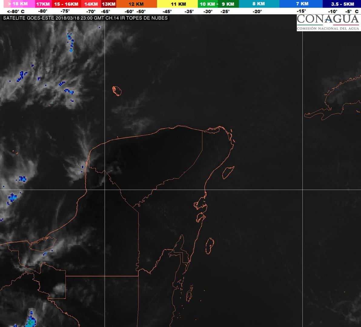 Casi 40 grados en Mérida, subiría hasta 41 en Yucatán