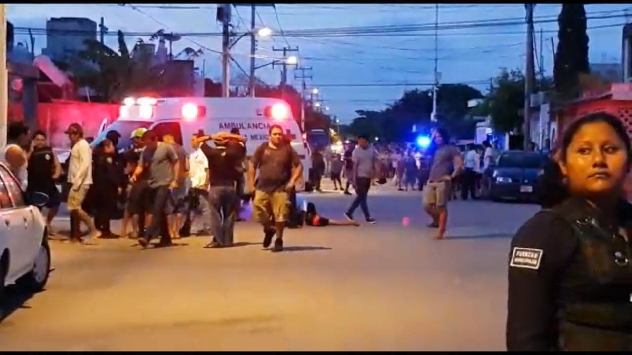 Violencia en zona norte de Quintana Roo, con 4 muertos y 3 heridos
