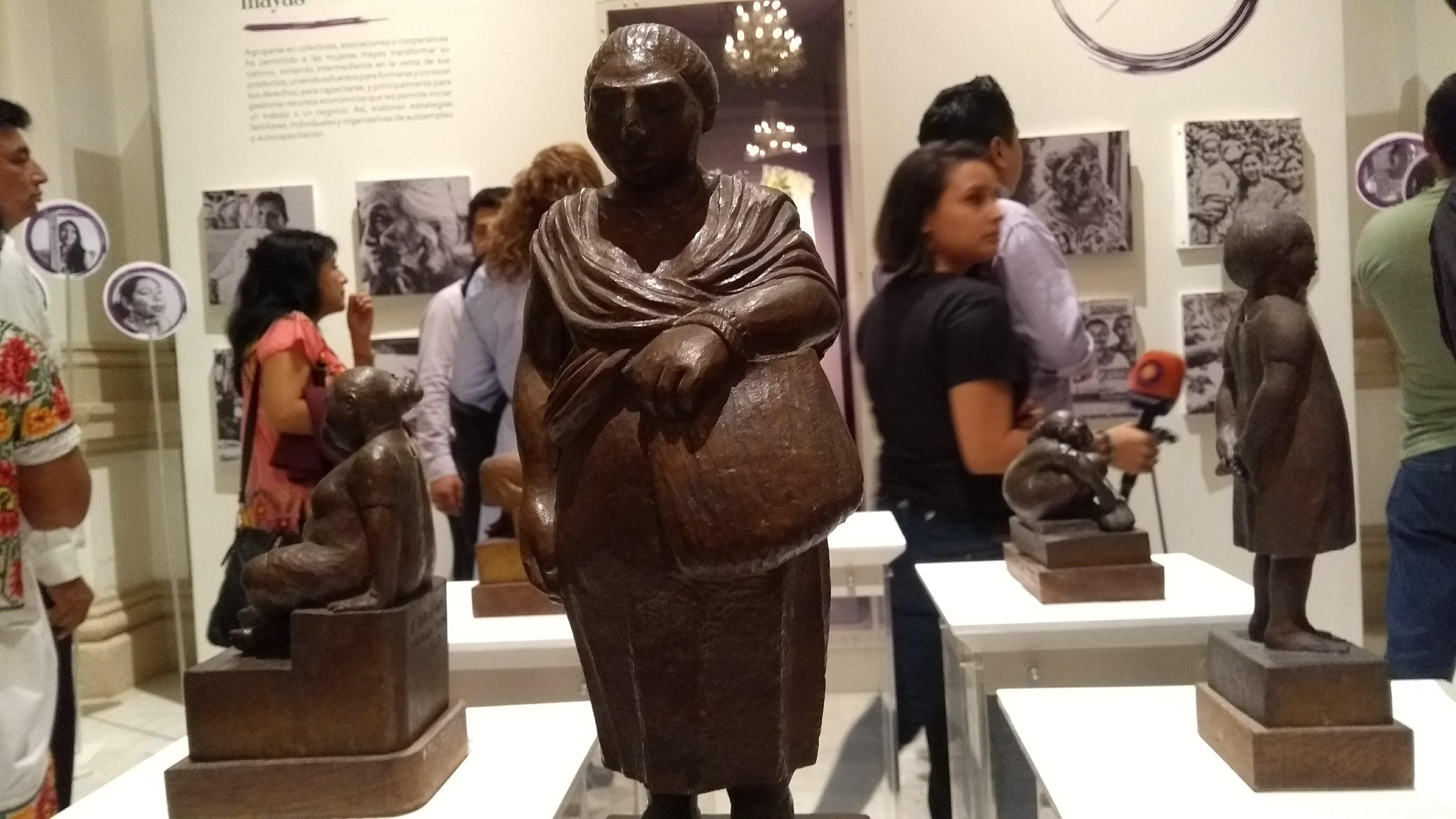 Magna muestra de arte e historia sobre mujeres yucatecas