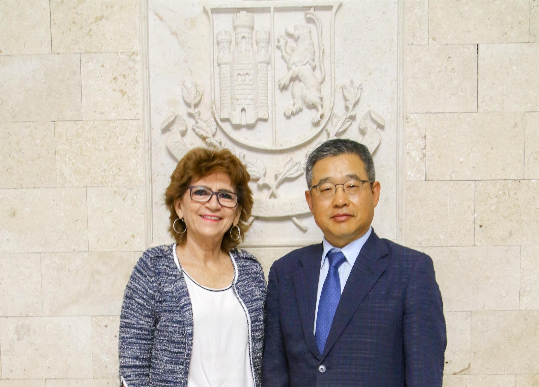 Mérida y República de Corea ratifican trabajo coordinado
