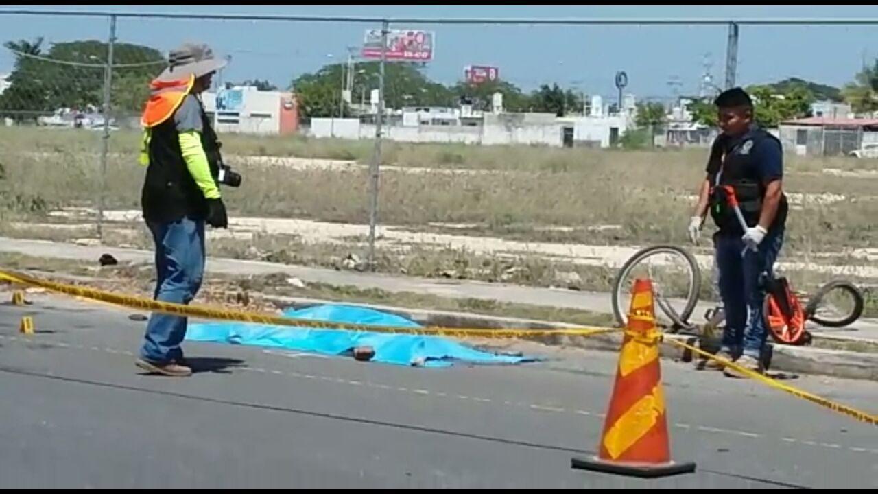 'Auto fantasma' arrolla a ciclista y lo mata