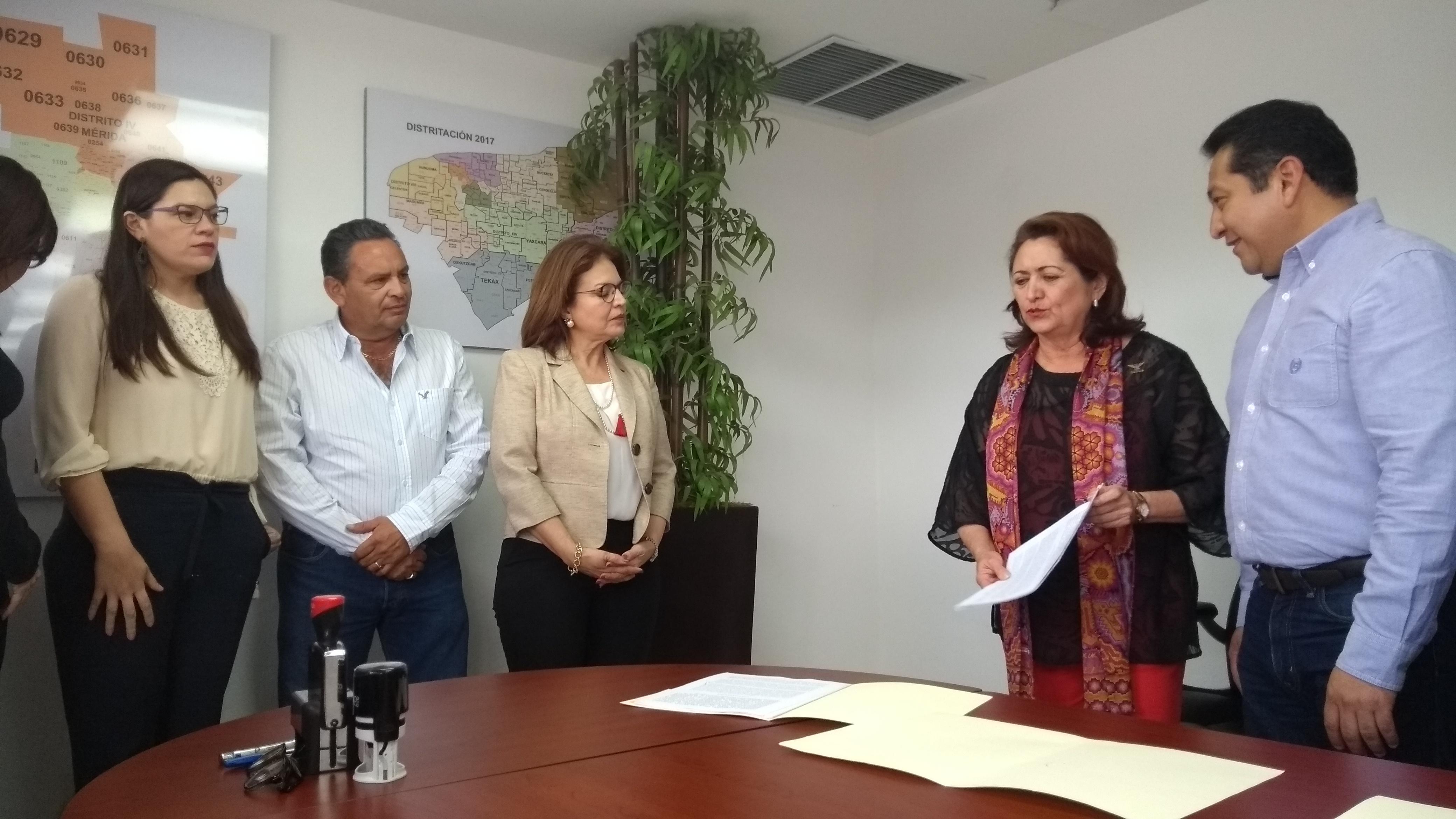 Consuman coalición PAN y MC en Yucatán, sin PRD